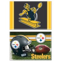 "Pittsburgh Steelers Rectangle Magnet, 2pack 2"" x 3"""