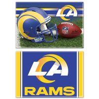 """Los Angeles Rams Rectangle Magnet, 2pack 2"""" x 3"""""""