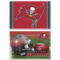 """Tampa Bay Buccaneers Rectangle Magnet, 2pack 2"""" x 3"""""""