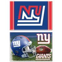 "New York Giants Rectangle Magnet, 2pack 2"" x 3"""