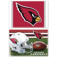 """Arizona Cardinals Rectangle Magnet, 2pack 2"""" x 3"""""""