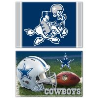"Dallas Cowboys Rectangle Magnet, 2pack 2"" x 3"""