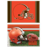 "Cleveland Browns Rectangle Magnet, 2pack 2"" x 3"""