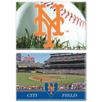 """New York Mets Rectangle Magnet, 2pack 2"""" x 3"""""""