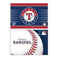 "Texas Rangers Rectangle Magnet, 2pack 2"" x 3"""