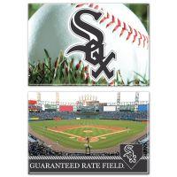 """Chicago White Sox Stadium MLB Rectangle Magnet, 2pack 2"""" x 3"""""""