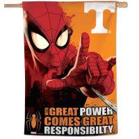 """Tennessee Volunteers / Marvel (c) 2021 MARVEL Vertical Flag 28"""" x 40"""""""
