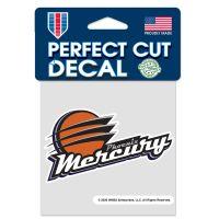 "Phoenix Mercury Perfect Cut Color Decal 4"" x 4"""