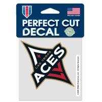 """Las Vegas Aces Perfect Cut Color Decal 4"""" x 4"""""""