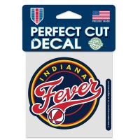 """Indiana Fever Perfect Cut Color Decal 4"""" x 4"""""""