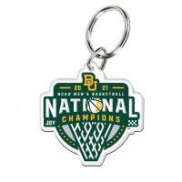 NCAA Div I Basketball Champ Baylor Bears Mens Final Four Champion Bayl Premium Acrylic Key Ring