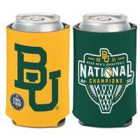 NCAA Div I Basketball Champ Baylor Bears Mens Final Four Champion Bayl Can Cooler 12 oz.