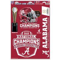 "National Football Champions Alabama Crimson Tide COLLEGE FOOTBALL PLAY Multi-Use Decal 11"" x 17"""