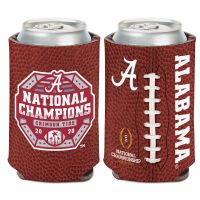 National Football Champions Alabama Crimson Tide COLLEGE FOOTBALL PLAY Can Cooler 12 oz.