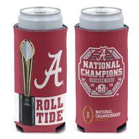 National Football Champions Alabama Crimson Tide COLLEGE FOOTBALL PLAY 12 oz Slim Can Cooler