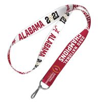 "National Football Champions Alabama Crimson Tide COLLEGE FOOTBALL PLAY Lanyard 1"""