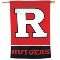 "Rutgers Scarlet Knights Vertical Flag 28"" x 40"""
