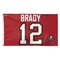 Tampa Bay Buccaneers Flag - Deluxe 3' X 5' Tom Brady