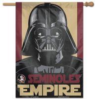 "Florida State Seminoles / Star Wars star wars vader Vertical Flag 28"" x 40"""