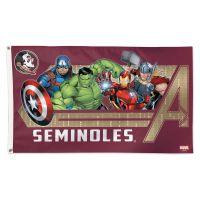 Florida State Seminoles / Marvel (c) 2021 MARVEL Flag - Deluxe 3' X 5'