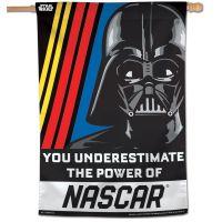 """NASCAR Logo / Star Wars STAR WARS VADER Vertical Flag 28"""" x 40"""""""