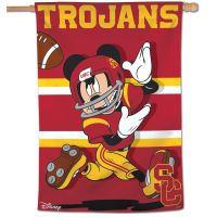 "USC Trojans / Disney Vertical Flag 28"" x 40"""