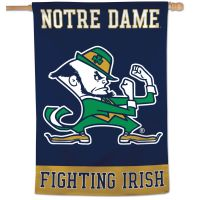 "Notre Dame Fighting Irish FIGHTING IRISH Vertical Flag 28"" x 40"""