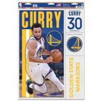 """Golden State Warriors Multi Use Decal 11"""" x 17"""" Stephen Curry"""
