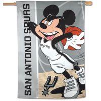 "San Antonio Spurs / Disney Vertical Flag 28"" x 40"""