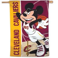 "Cleveland Cavaliers / Disney Vertical Flag 28"" x 40"""