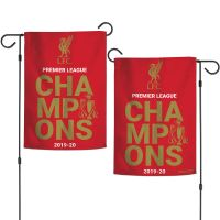 """Liverpool Liverpool Garden Flags 2 sided 12.5"""" x 18"""""""
