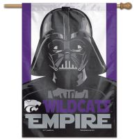 "Kansas State Wildcats / Star Wars vader Vertical Flag 28"" x 40"""