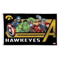 Iowa Hawkeyes / Marvel (c) 2021 MARVEL Flag - Deluxe 3' X 5'