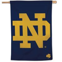"Notre Dame Fighting Irish Vertical Flag 28"" x 40"""