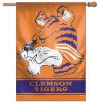 "Clemson Tigers /College Vault Vertical Flag 28"" x 40"""