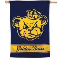 "California Golden Bears / Vintage Collegiate Vertical Flag 28"" x 40"""