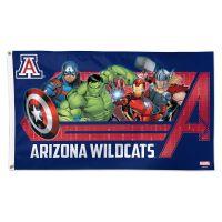 Arizona Wildcats / Marvel (c) 2021 MARVEL Flag - Deluxe 3' X 5'