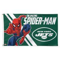 New York Jets / Marvel (c) 2021 MARVEL Flag - Deluxe 3' X 5'