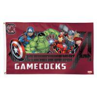 South Carolina Gamecocks / Marvel (c) 2021 MARVEL Flag - Deluxe 3' X 5'