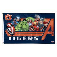 Auburn Tigers / Marvel (c) 2021 MARVEL Flag - Deluxe 3' X 5'