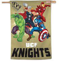"UCF Knights / Marvel (c) 2021 MARVEL Vertical Flag 28"" x 40"""