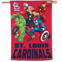 "St. Louis Cardinals / Marvel (c) 2021 MARVEL Vertical Flag 28"" x 40"""