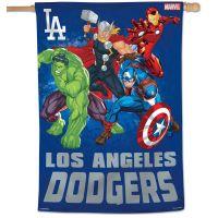 """Los Angeles Dodgers / Marvel (c) 2021 MARVEL Vertical Flag 28"""" x 40"""""""