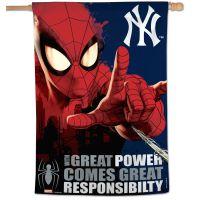 """New York Yankees / Marvel (c) 2021 MARVEL Vertical Flag 28"""" x 40"""""""