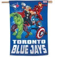 "Toronto Blue Jays / Marvel (c) 2021 MARVEL Vertical Flag 28"" x 40"""