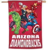 "Arizona Diamondbacks / Marvel (c) 2021 MARVEL Vertical Flag 28"" x 40"""