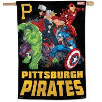 "Pittsburgh Pirates / Marvel (c) 2021 MARVEL Vertical Flag 28"" x 40"""