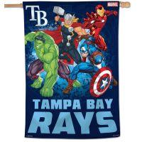 "Tampa Bay Rays / Marvel (c) 2021 MARVEL Vertical Flag 28"" x 40"""