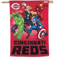 "Cincinnati Reds / Marvel (c) 2021 MARVEL Vertical Flag 28"" x 40"""