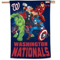 "Washington Nationals / Marvel (c) 2021 MARVEL Vertical Flag 28"" x 40"""